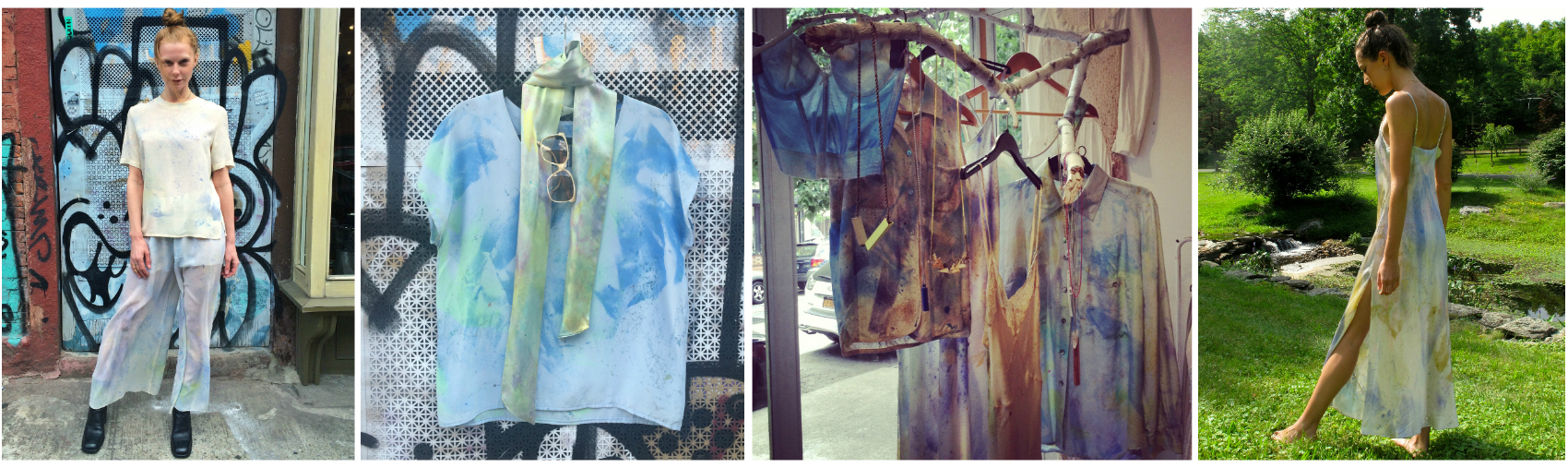 Hand Dyed Vintage Pieces